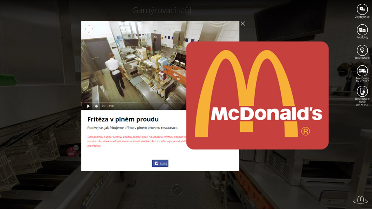 McDonalds´ 360 | 360video.cz
