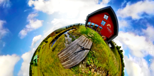 Friesovy boudy pension Andula | 360video.cz
